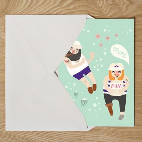 Michelle Carlslund – Poster, Sailor Friends