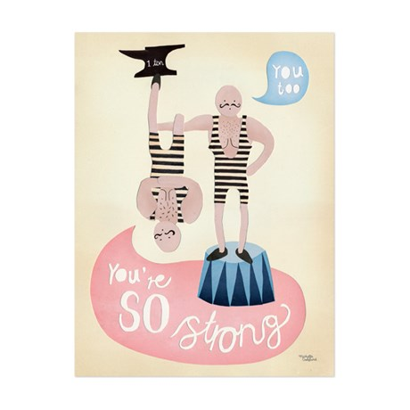 Michelle Carlslund – Poster, You're so Strong