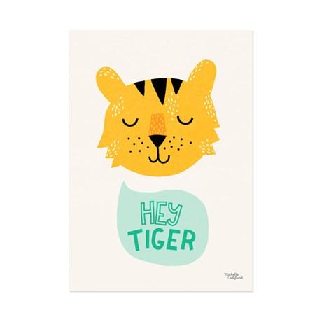 Michelle Carlslund – Poster, Hey Tiger