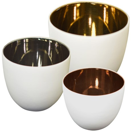 Ljushållare – Metallic (3-pack)