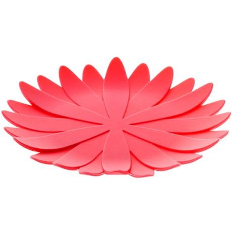 Glasunderlägg – Blomma Rosa