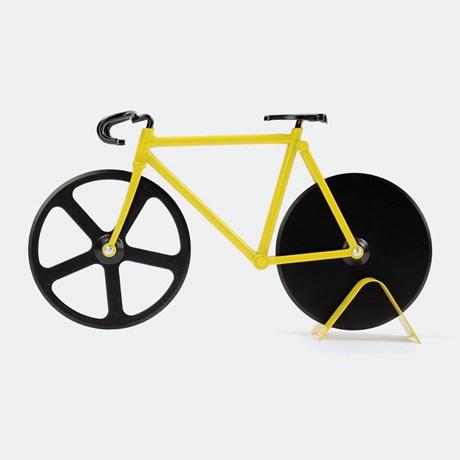 Pizzaskärare – Cykel Gul
