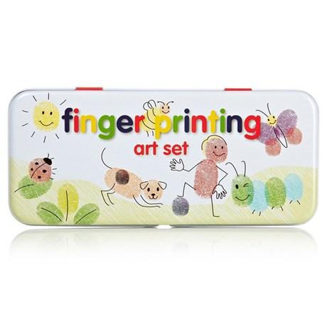Fingerkonst i plåtask Originalet