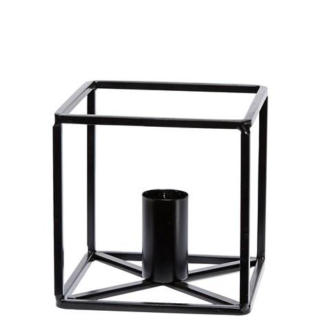 Hübsch – Ljusstake, svart