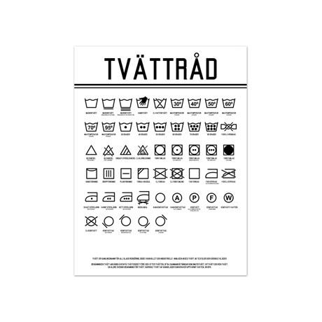 Poster – Tvättråd