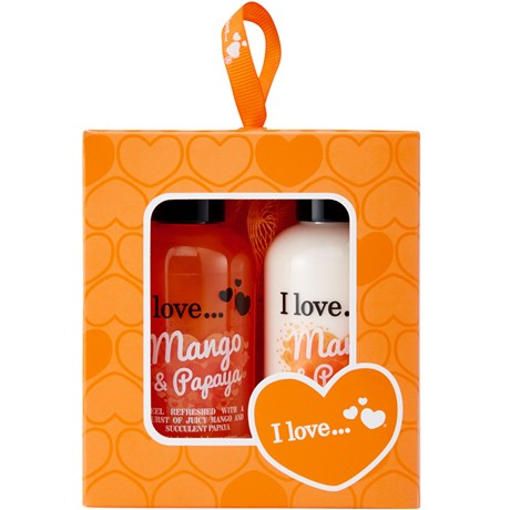 I love – Mini box of love, Presentkit