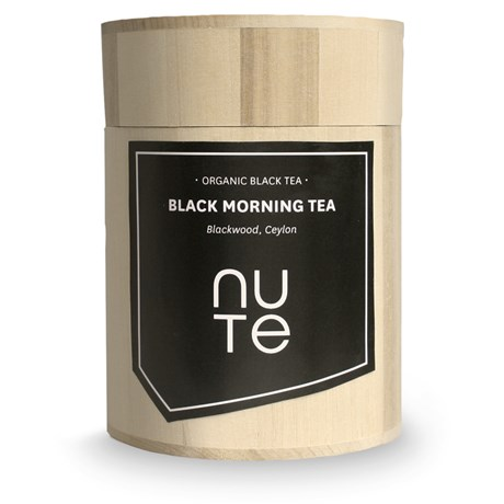 NUTE Svart te – Black Morning tea