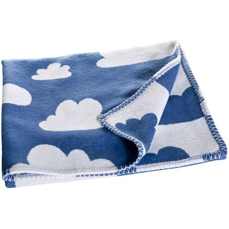 Barnfilt – Blå Moln Blå