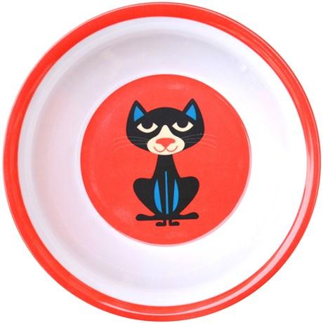 Melaminskål – Djur Katt