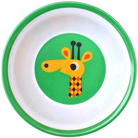 Melaminskål – Djur Giraff