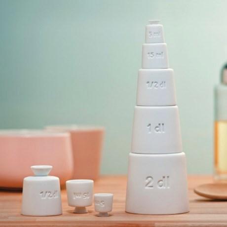 Alessi måttsats – Tower (5 delar)