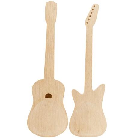 Träslevar – Gitarr (2-pack)