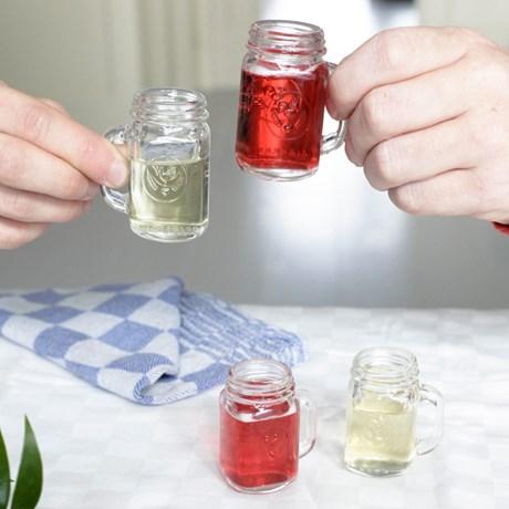 Shotglas – Mason Jars (4-pack)