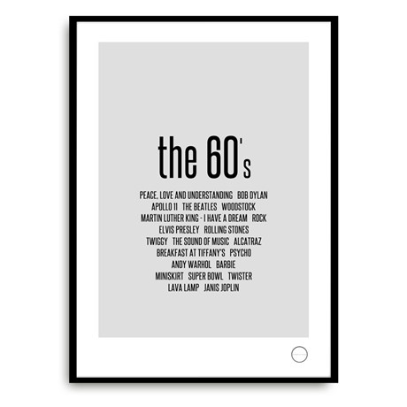 Poster – Remember the 60s