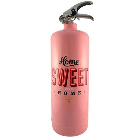 Brandsläckare – Home sweet home Rosa