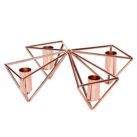 Hübsch – Ljusstake för 4 stearinljus
