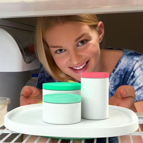 Roterande kylskåpsbricka – Squircle