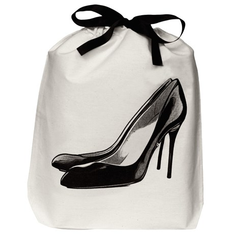 Bag-all – Resepåse, Högklackade skor