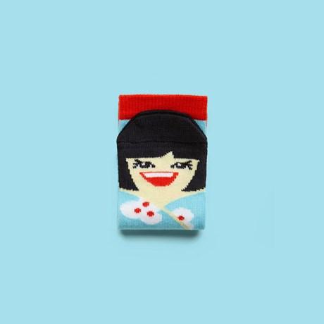 ChattyFeet Barnstrumpor – Yoko Mono