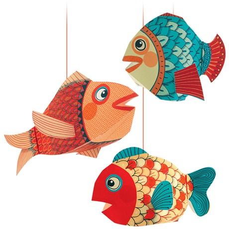 Hängande dekorer i olika djurmotiv (3-pack)