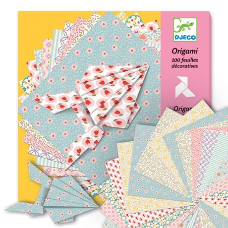 Origami – 100 mönstrade pappersark, pastell