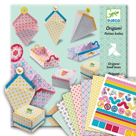 Barnpyssel – Origami, små askar