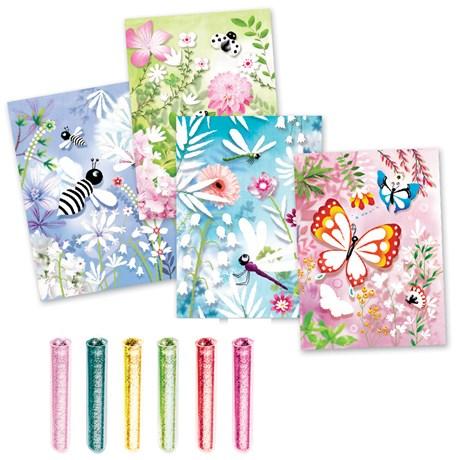 Barnpyssel – Glittertavlor Butterflies