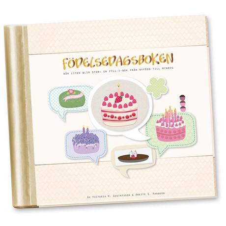 Fyll-i-bok – Födelsedagsboken