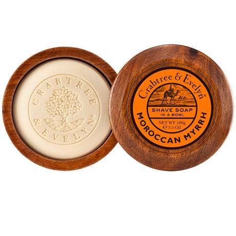 Crabtree & Evelyn – Raktvål Moroccan Myrrh Raktvål med skål