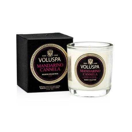 Voluspa – Maison Noir Mandarino Canella (25h) Doftljus i mindre glasburk