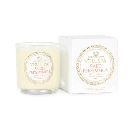 Voluspa – Maison Blanc Saijo Persimmon (25h) Doftljus i mindre glasburk