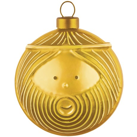 Alessi – Julgranskulor Guld Josef