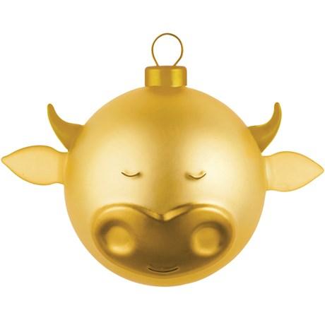 Alessi – Julgranskulor Guld Oxe