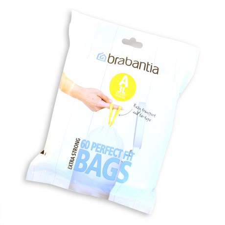 Brabantia – Pedalhink 3L Refillpåsar 60st