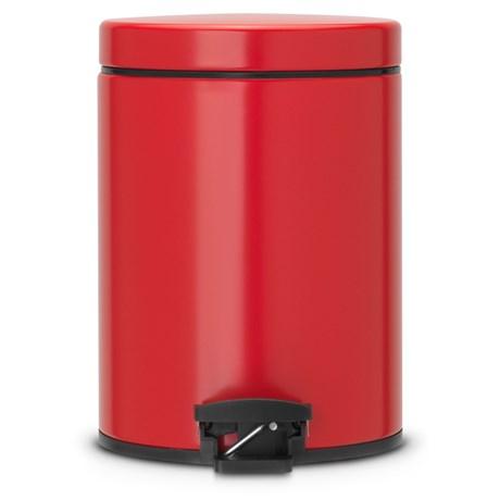 Brabantia – Pedalhink 5L Röd