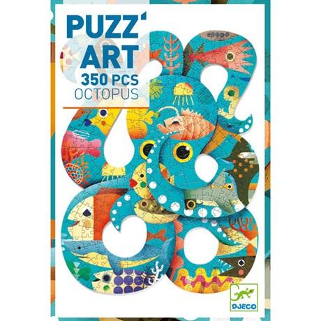 Pussel – Puzz Art Bläckfisk