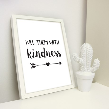 Poster – Kill them with kindness
