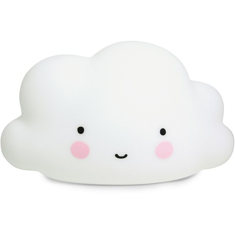 Molnlampa – A Little Lovely Cloud Light Vit – stor