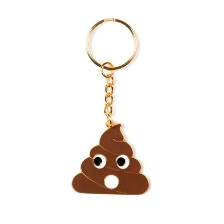 Nyckelring – Emoji Poo