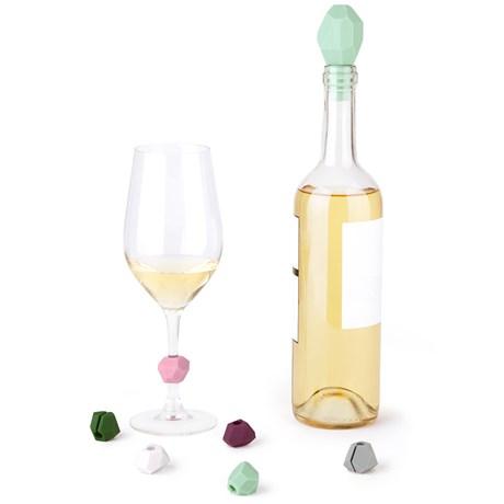 Flaskpropp & glasmarkörer – Gem