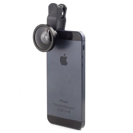 Vidvinkelobjektiv för mobiltelefon