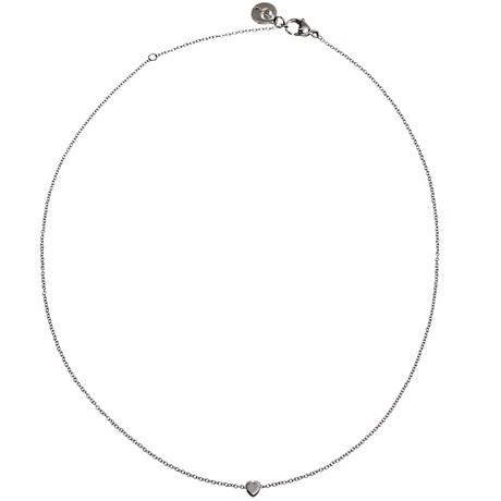 Edblad - Halsband, Mini heart, Stål
