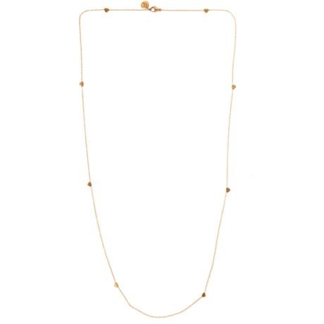 Edblad - Halsband, Mini heart multi, Roséguld