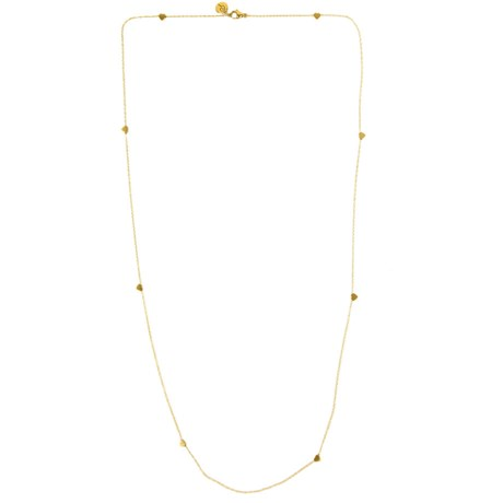 Edblad – Halsband Mini heart multi Guld