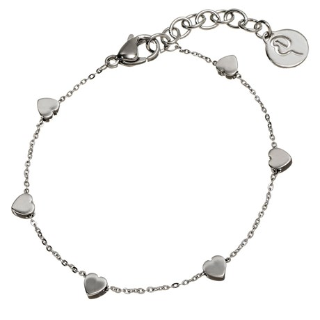 Edblad – Armband Mini heart multi Stål