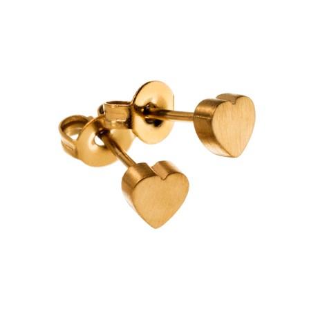 Edblad - Örhängen, Mini heart, Guld