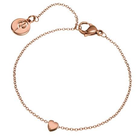 Edblad - Armband, Mini heart, Roséguld