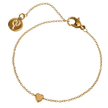 Edblad - Armband, Mini heart, Guld