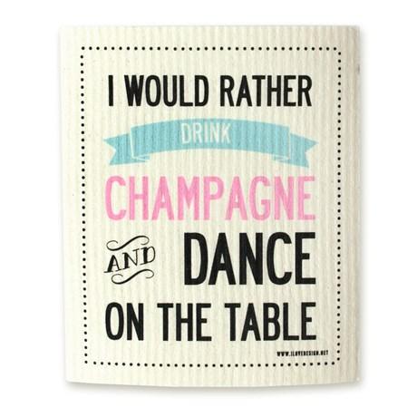 Disktrasa – Drink I would rather drink champagne…