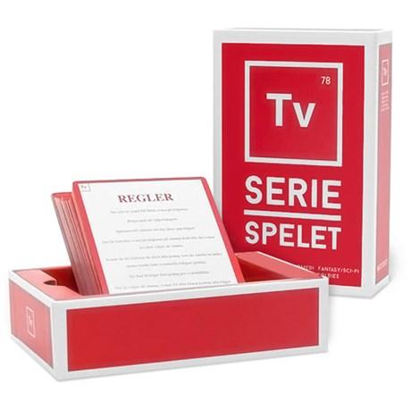 Frågespel – TV-seriespelet Röd